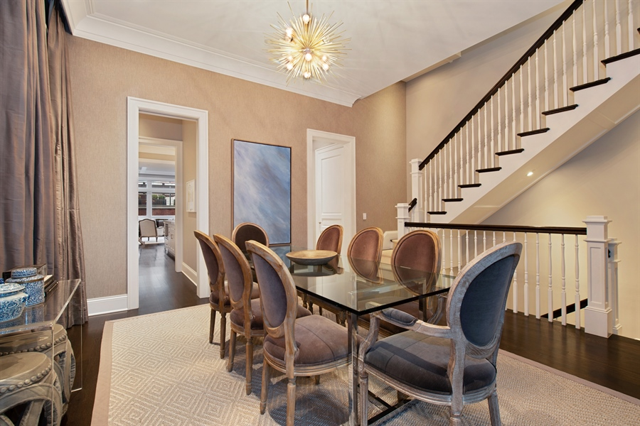 Real Estate Photography - 1838 N Hudson Ave, Chicago, IL, 60614 - Dining Room