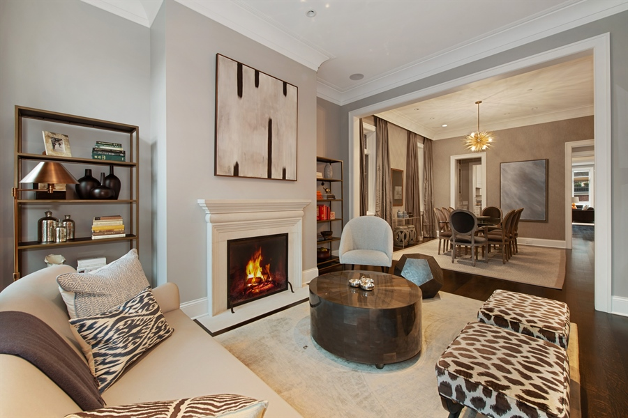 Real Estate Photography - 1838 N Hudson Ave, Chicago, IL, 60614 - Living Room / Dining Room
