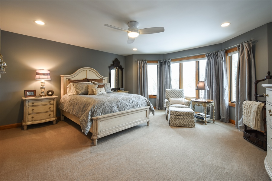 Real Estate Photography - 1 Cutters Run, South Barrington, IL, 60010 - 4th Bedroom