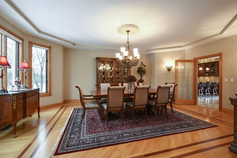 Real Estate Photography - 1 Cutters Run, South Barrington, IL, 60010 - Dining Room