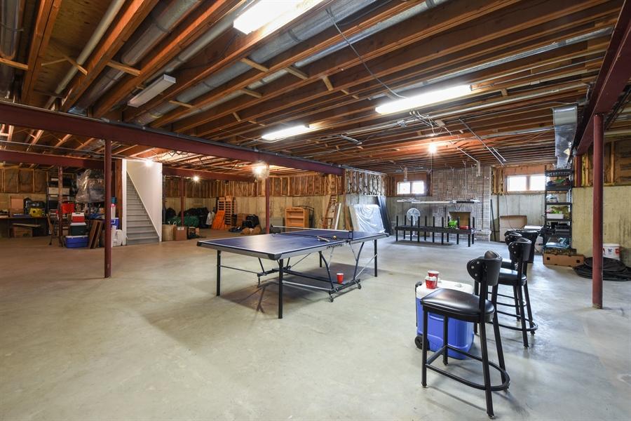 Real Estate Photography - 1 Cutters Run, South Barrington, IL, 60010 - Basement