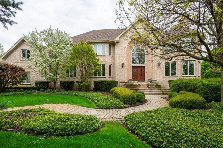 Real Estate Photography - 1 Cutters Run, South Barrington, IL, 60010 - Front View