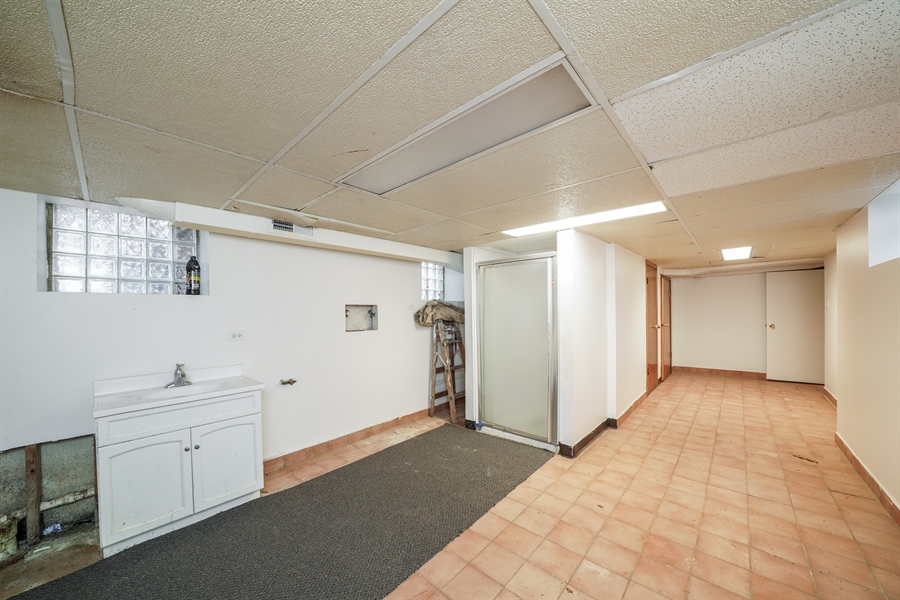 Real Estate Photography - 110 W Oneida, Bartlett, IL, 60103 - Laundry Room