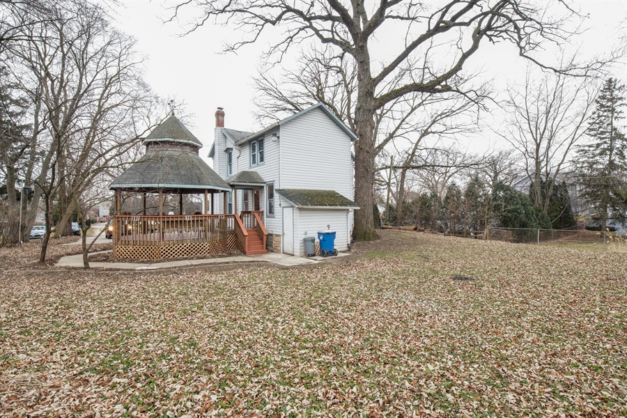 Real Estate Photography - 110 W Oneida, Bartlett, IL, 60103 - Rear View