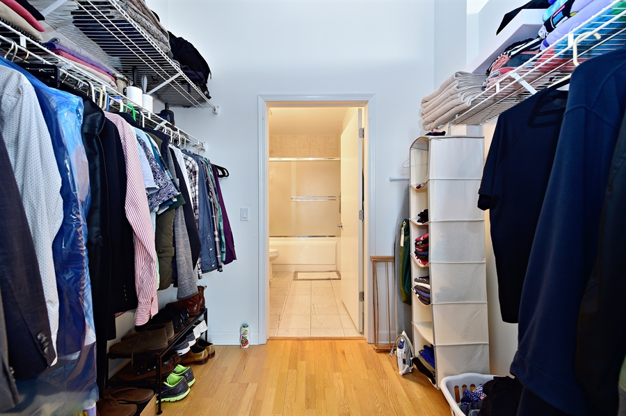 Real Estate Photography - 15 S. Throop, 602, Chicago, IL, 60607 - Closet
