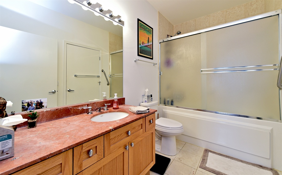 Real Estate Photography - 15 S. Throop, 602, Chicago, IL, 60607 - Bathroom