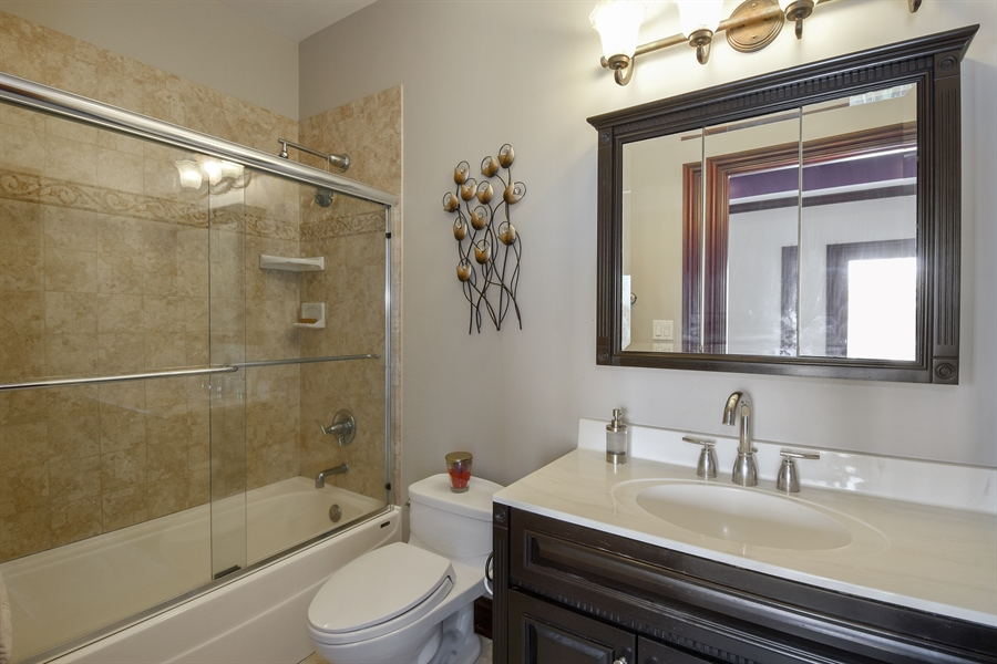 Real Estate Photography - 2 Beacon Hill Drive, South Barrington, IL, 60010 - 3rd Bathroom