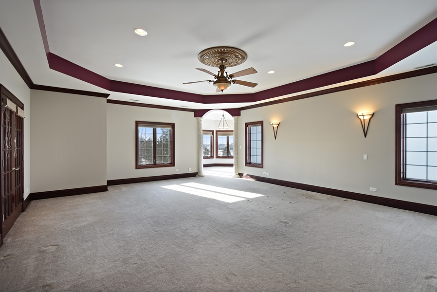 Real Estate Photography - 2 Beacon Hill Drive, South Barrington, IL, 60010 - Master Bedroom