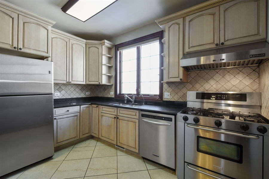 Real Estate Photography - 2 Beacon Hill Drive, South Barrington, IL, 60010 - 2nd Kitchen on Main Level