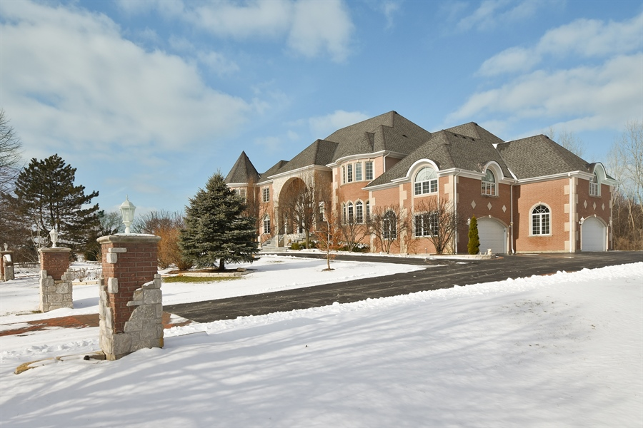 Real Estate Photography - 2 Beacon Hill Drive, South Barrington, IL, 60010 - Side View
