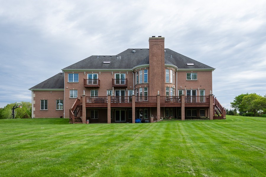 Real Estate Photography - 2 Beacon Hill Drive, South Barrington, IL, 60010 - Rear View