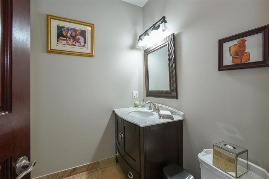 Real Estate Photography - 2 Beacon Hill Drive, South Barrington, IL, 60010 - Half Bath