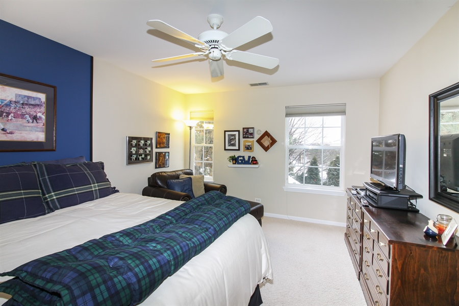 Real Estate Photography - 1201 Ashbrook, Darien, IL, 60561 - 2nd Bedroom
