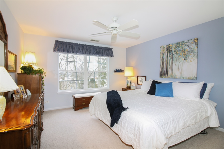 Real Estate Photography - 1201 Ashbrook, Darien, IL, 60561 - Bedroom