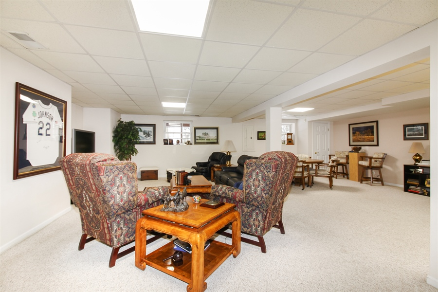 Real Estate Photography - 1201 Ashbrook, Darien, IL, 60561 - Basement