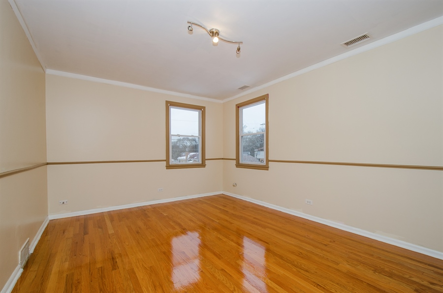 Real Estate Photography - 2033 Oakton Ave, Evanston, IL, 60202 - 3rd Bedroom
