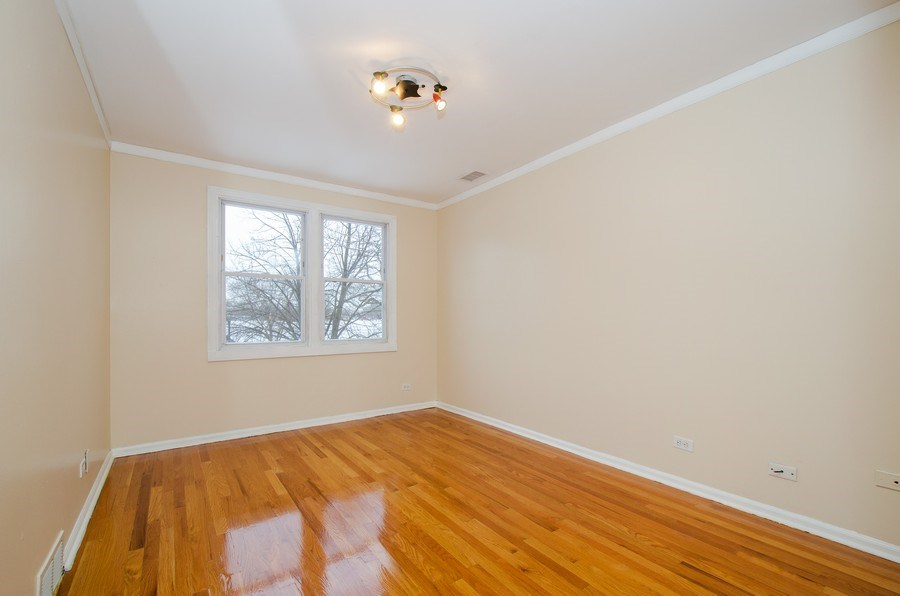 Real Estate Photography - 2033 Oakton Ave, Evanston, IL, 60202 - Master Bedroom