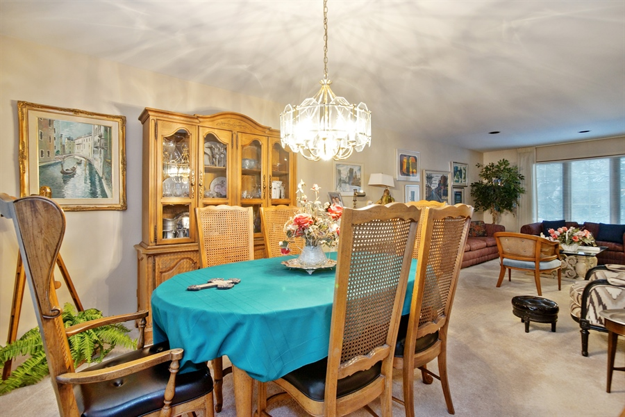 Real Estate Photography - 1632 N Windsor Dr., Arlington Heights, IL, 60004 - Dining Room