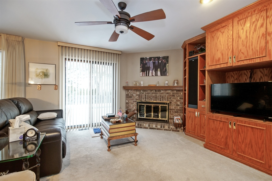 Real Estate Photography - 1632 N Windsor Dr., Arlington Heights, IL, 60004 - Family Room