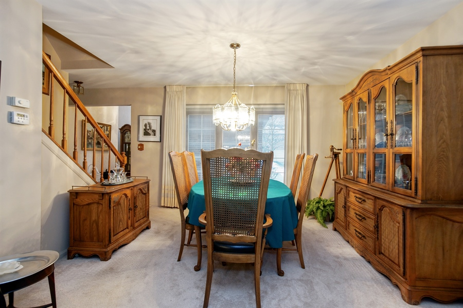 Real Estate Photography - 1632 N Windsor Dr., Arlington Heights, IL, 60004 - Dining Area