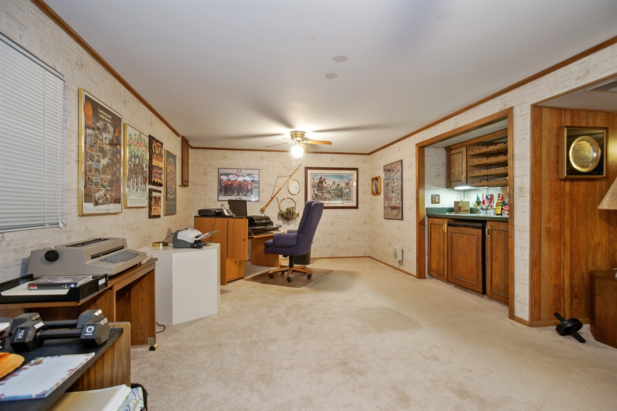 Real Estate Photography - 1632 N Windsor Dr., Arlington Heights, IL, 60004 - Office