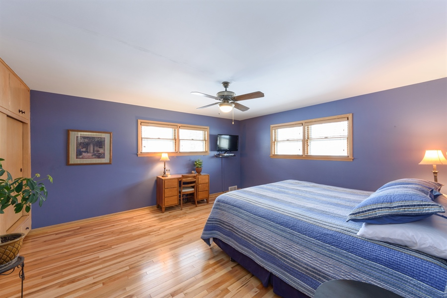Real Estate Photography - 115 N Elmhurst Ave, Mt. Prospect, IL, 60056 - Master Bedroom