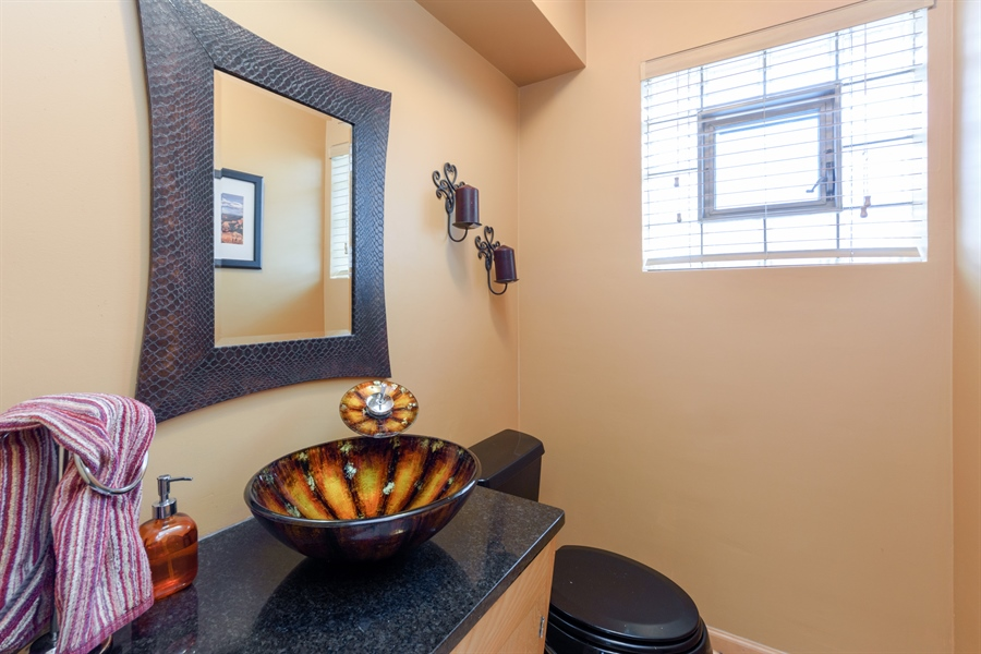 Real Estate Photography - 115 N Elmhurst Ave, Mt. Prospect, IL, 60056 - Powder Room