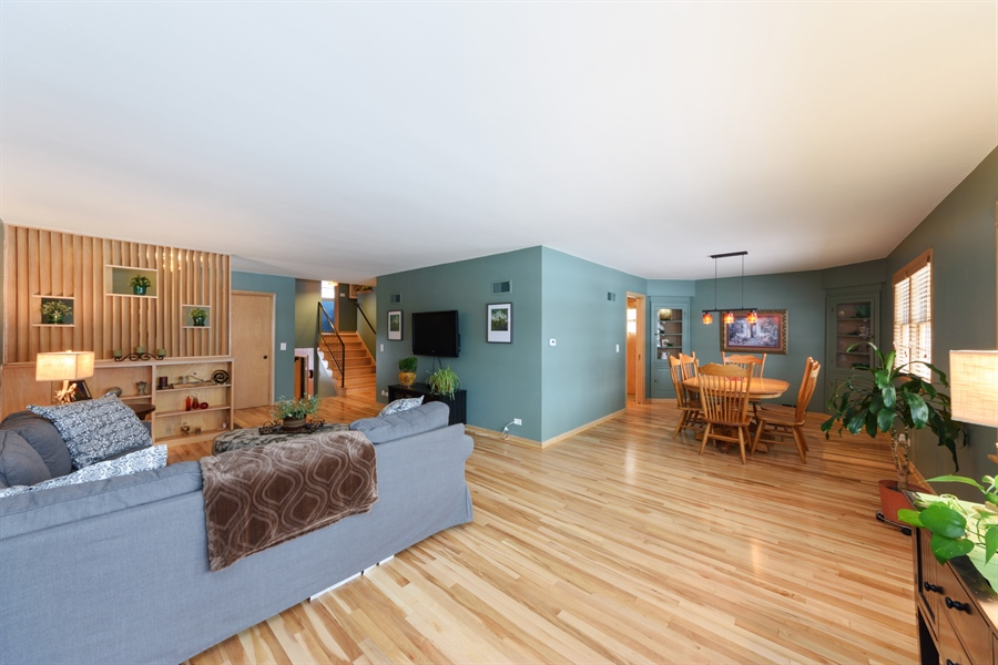 Real Estate Photography - 115 N Elmhurst Ave, Mt. Prospect, IL, 60056 - Living Room / Dining Room