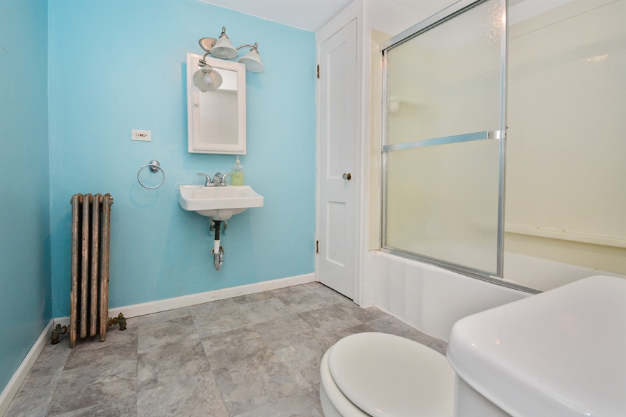 Real Estate Photography - 6332 S Kolin, Chicago, IL, 60629 - 3rd Bathroom