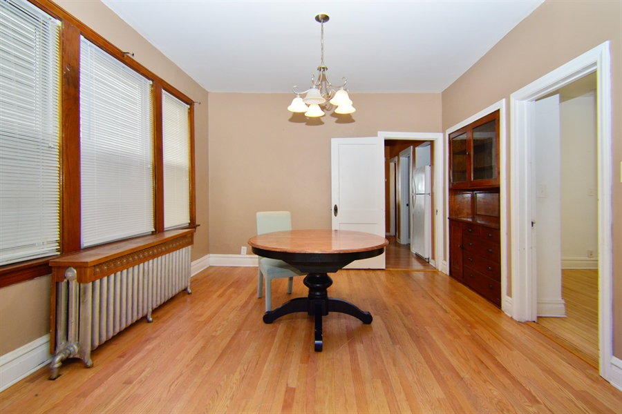 Real Estate Photography - 6332 S Kolin, Chicago, IL, 60629 - Dining Room