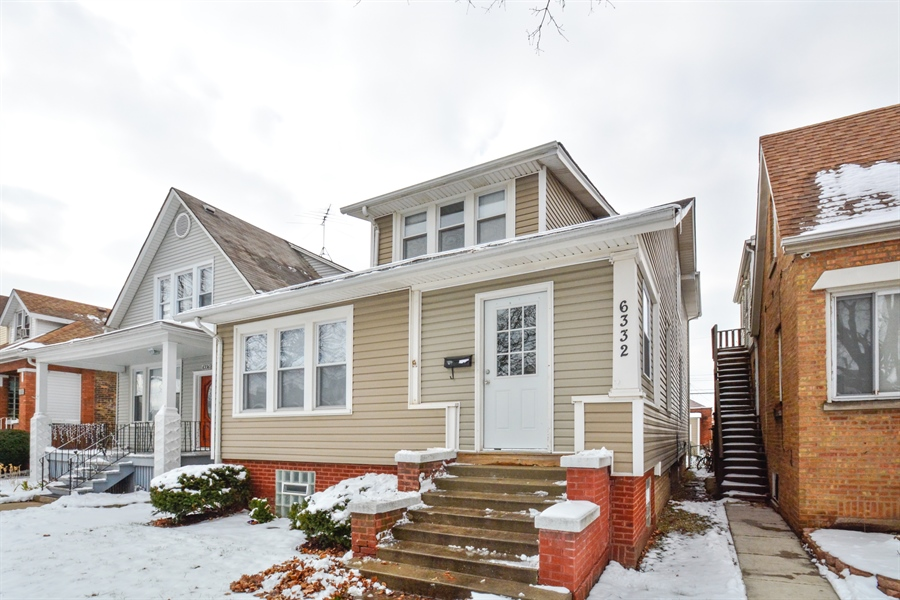 Real Estate Photography - 6332 S Kolin, Chicago, IL, 60629 - Front View