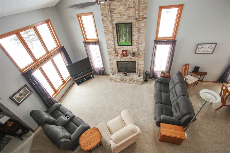 Real Estate Photography - N102W15895, Germantown, WI, 53022 - Living Room