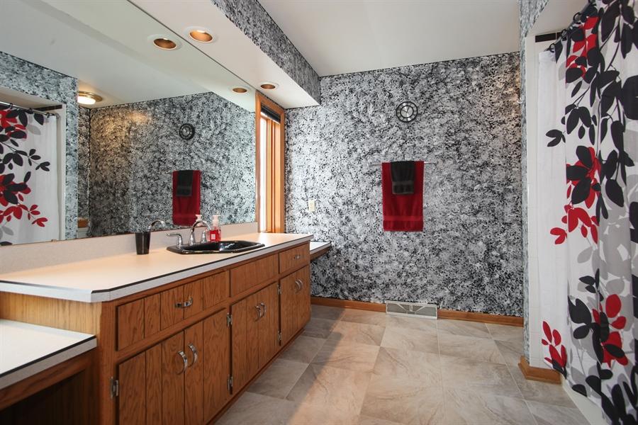 Real Estate Photography - N102W15895, Germantown, WI, 53022 - Master Bathroom