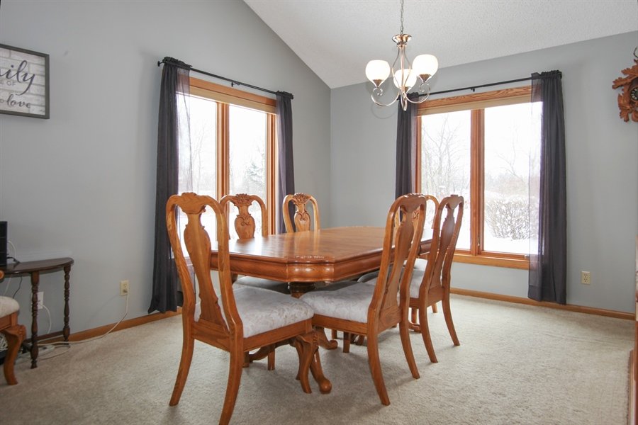 Real Estate Photography - N102W15895, Germantown, WI, 53022 - Dining Area