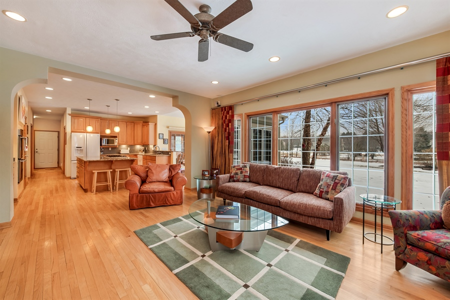 Real Estate Photography - 8044 W Poplar Drive, mequon, WI, 53097 - Living Room