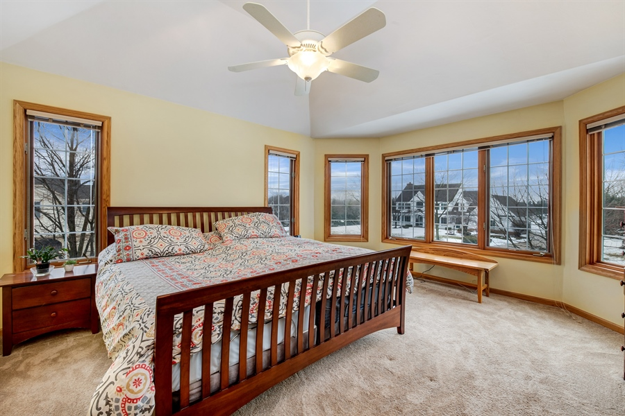 Real Estate Photography - 8044 W Poplar Drive, mequon, WI, 53097 - Master Bedroom