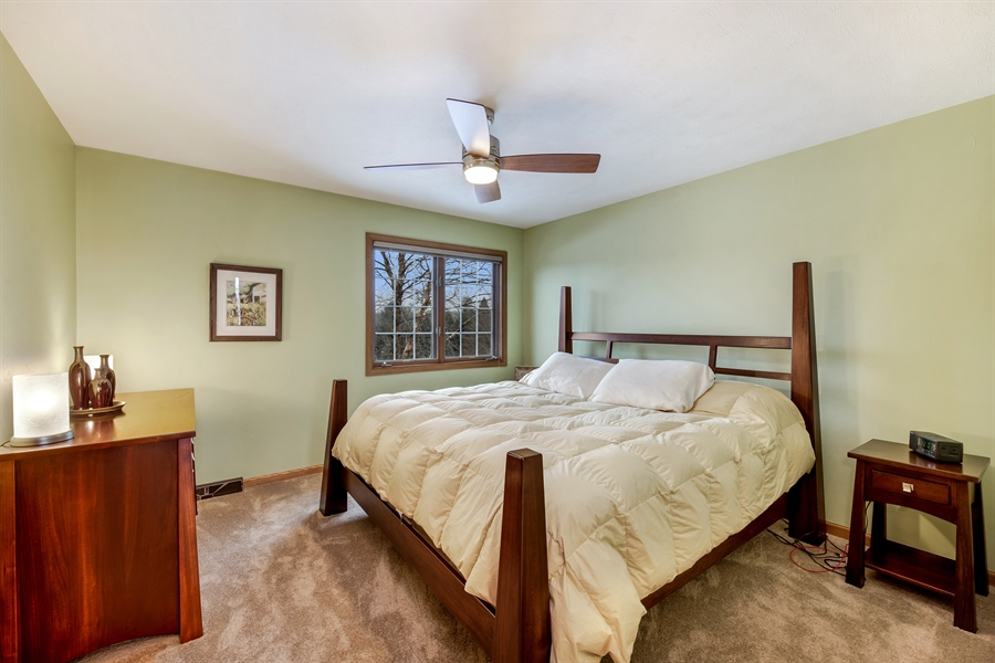 Real Estate Photography - 8044 W Poplar Drive, mequon, WI, 53097 - 2nd Bedroom