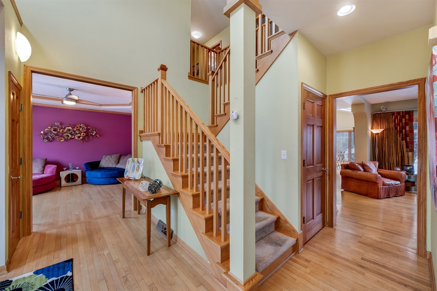 Real Estate Photography - 8044 W Poplar Drive, mequon, WI, 53097 - Foyer