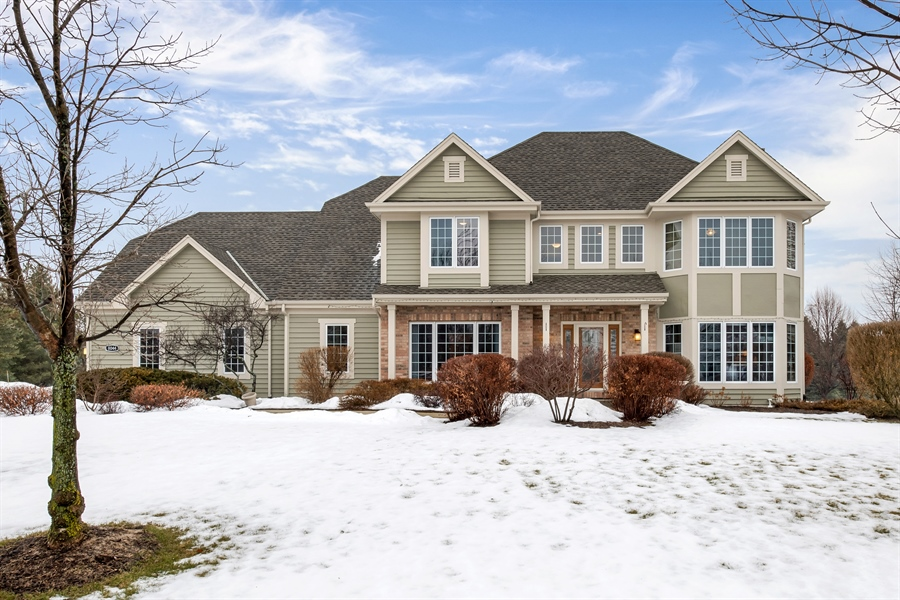 Real Estate Photography - 8044 W Poplar Drive, mequon, WI, 53097 - Front View