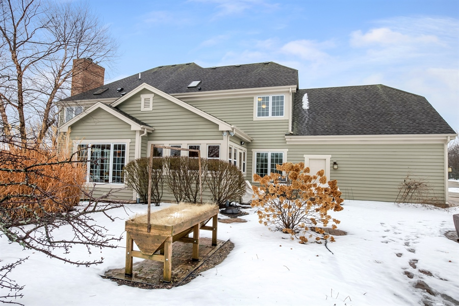 Real Estate Photography - 8044 W Poplar Drive, mequon, WI, 53097 - Rear View