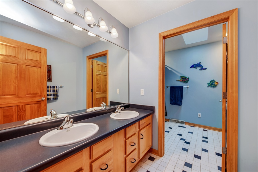 Real Estate Photography - 8044 W Poplar Drive, mequon, WI, 53097 - Bathroom