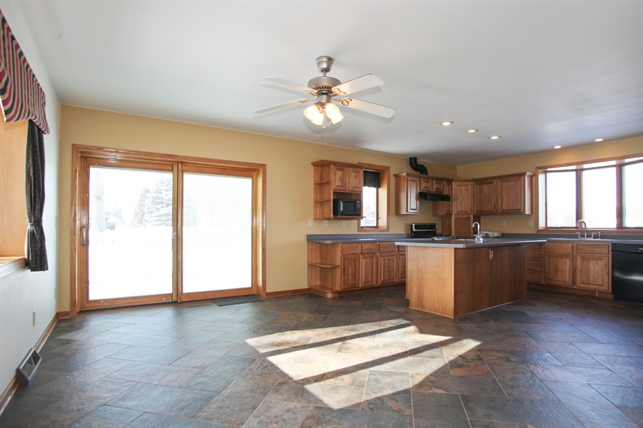 Real Estate Photography - 2162 County Road H, PO BOX 183, Kewaskum, WI, 53040 - Kitchen