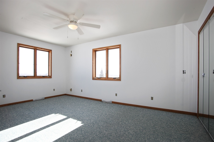 Real Estate Photography - 2162 County Road H, PO BOX 183, Kewaskum, WI, 53040 - Bedroom