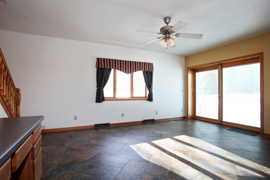 Real Estate Photography - 2162 County Road H, PO BOX 183, Kewaskum, WI, 53040 - Dining Area