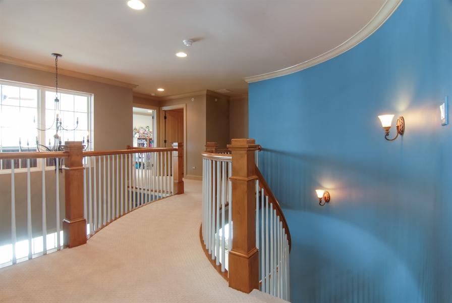 Real Estate Photography - 1466 Cornell Cir, Sugar Grove, IL, 60554 - 2nd Floor Corridor