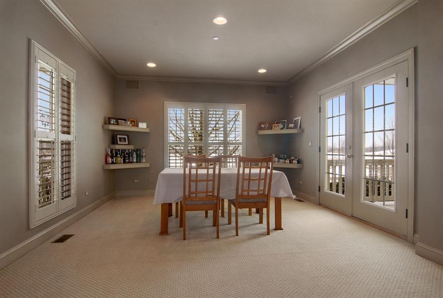 Real Estate Photography - 1466 Cornell Cir, Sugar Grove, IL, 60554 - Dining Room
