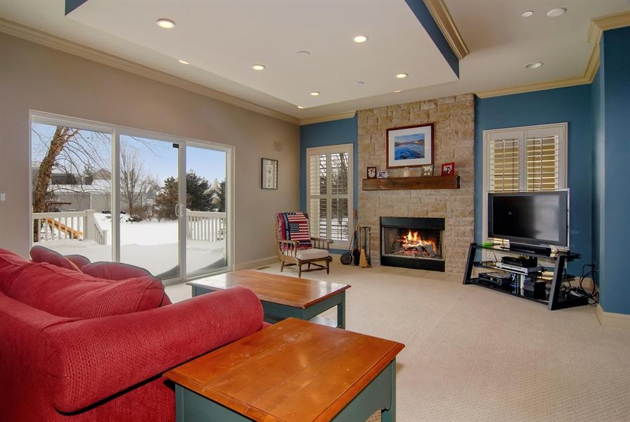 Real Estate Photography - 1466 Cornell Cir, Sugar Grove, IL, 60554 - Family Room