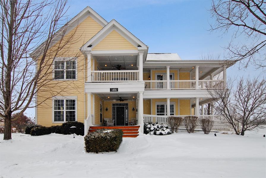 Real Estate Photography - 1466 Cornell Cir, Sugar Grove, IL, 60554 - Front View