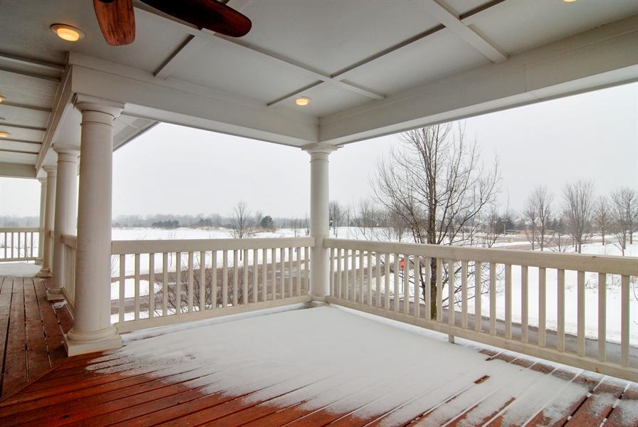 Real Estate Photography - 1466 Cornell Cir, Sugar Grove, IL, 60554 - Balcony