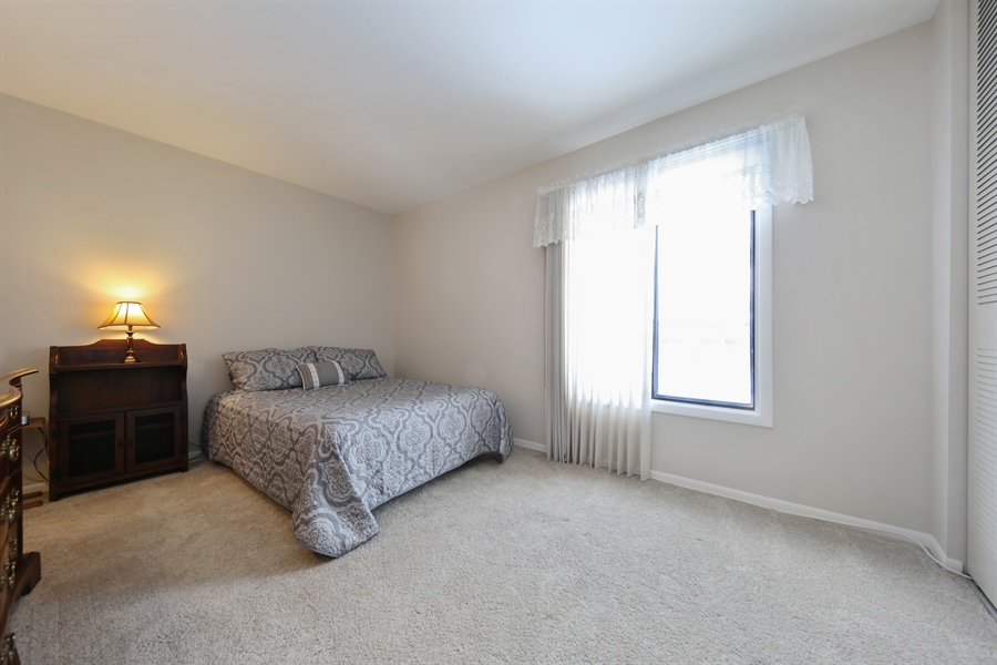 Real Estate Photography - 7373 BLACKBURN, 202, DOWNERS GROVE, IL, 60516 - 2nd Bedroom
